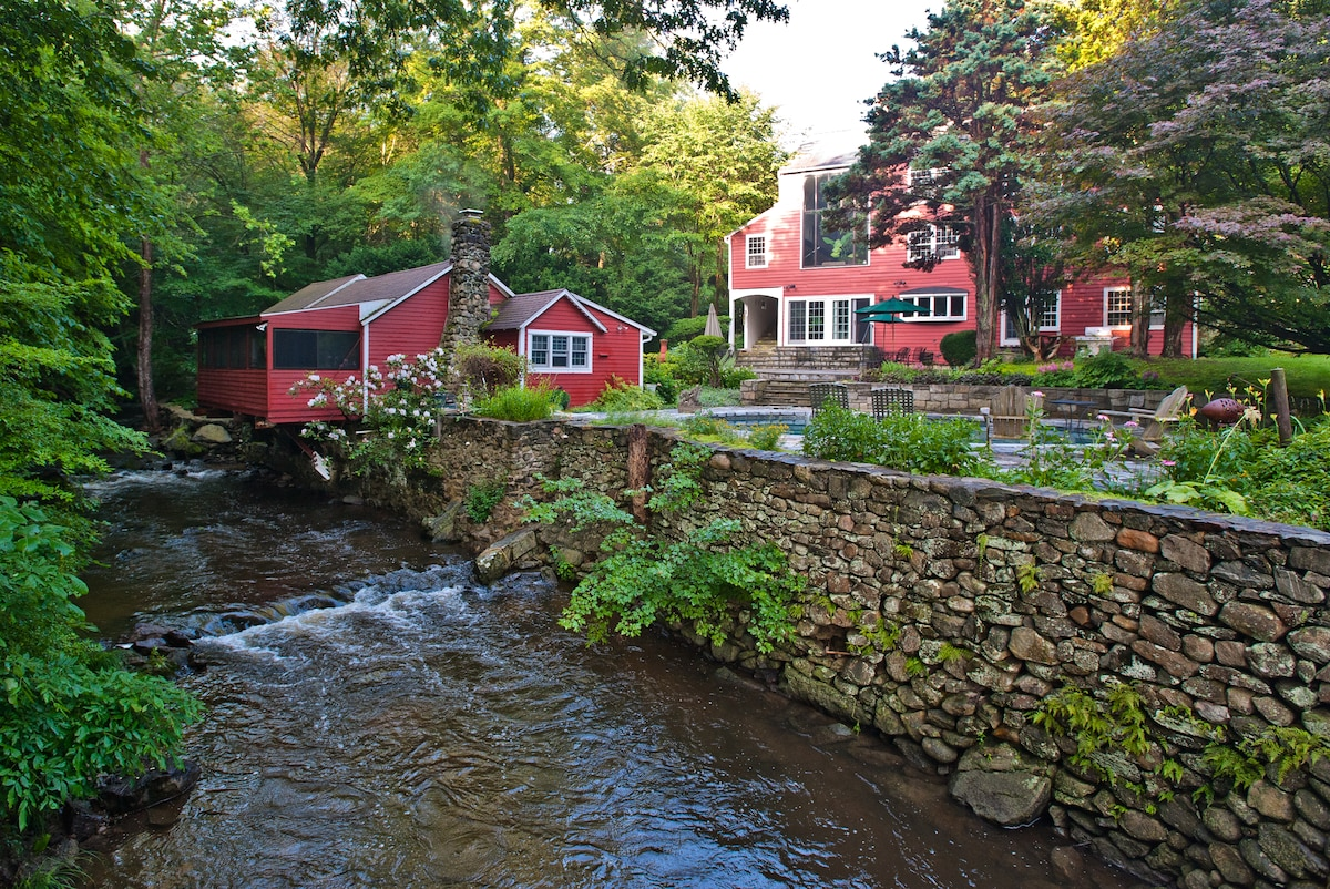 Sleep in a 200 year old mill