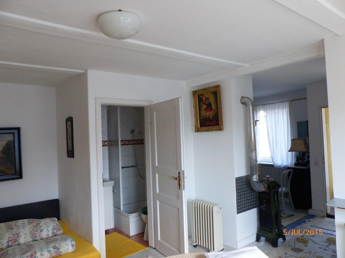1-Zimmer-Apartment mit 30m²