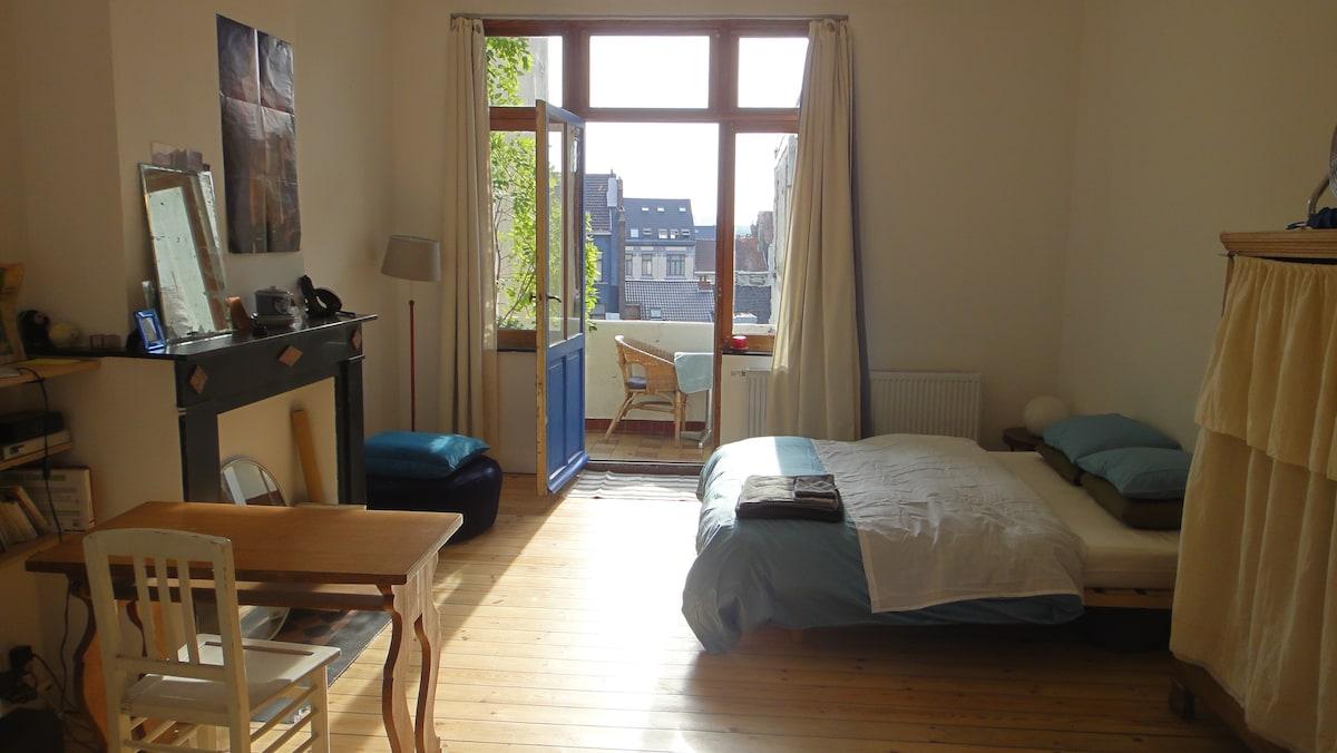 Cosy apartment in Saint-Gilles!