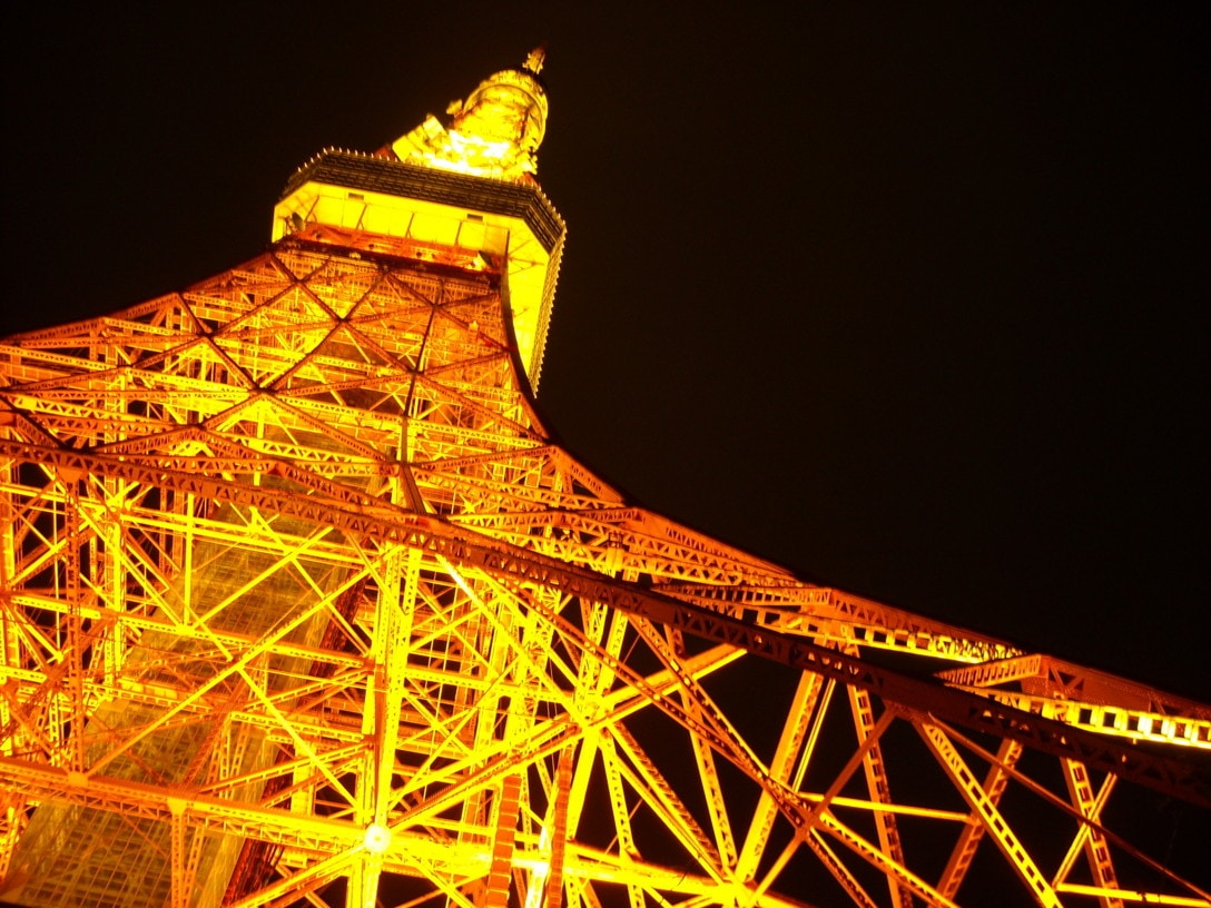 Tokyo tower can be watched!!