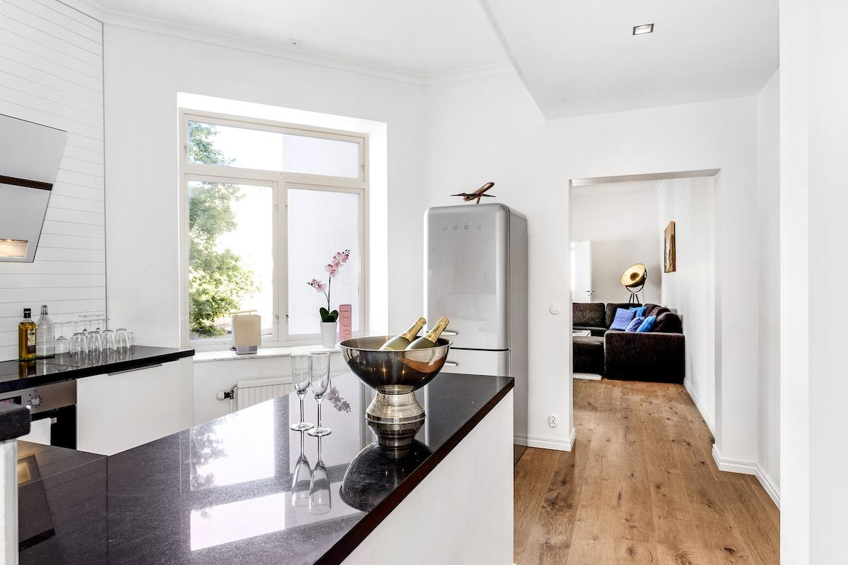 Central stylish 2 room apartment