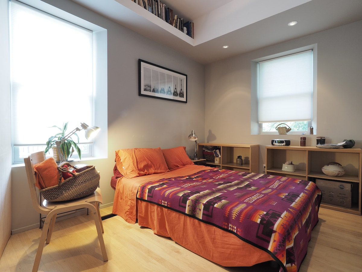 Cozy room in updated DC rowhouse