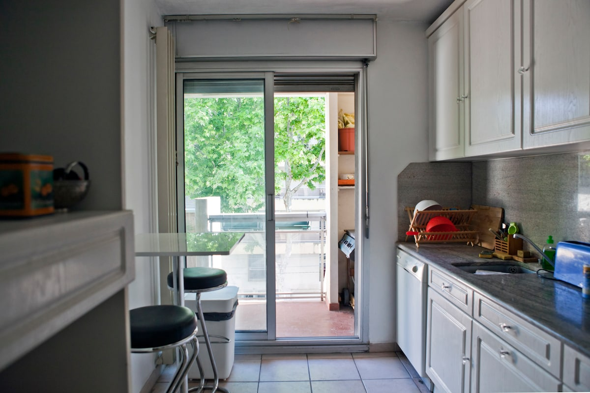 Kitchen : Microwave, dishwasher, oven, coffee machine...Everything you need !
