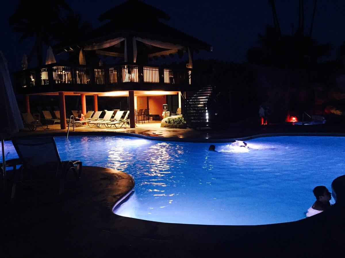 Beautiful Ocean front Condo resort