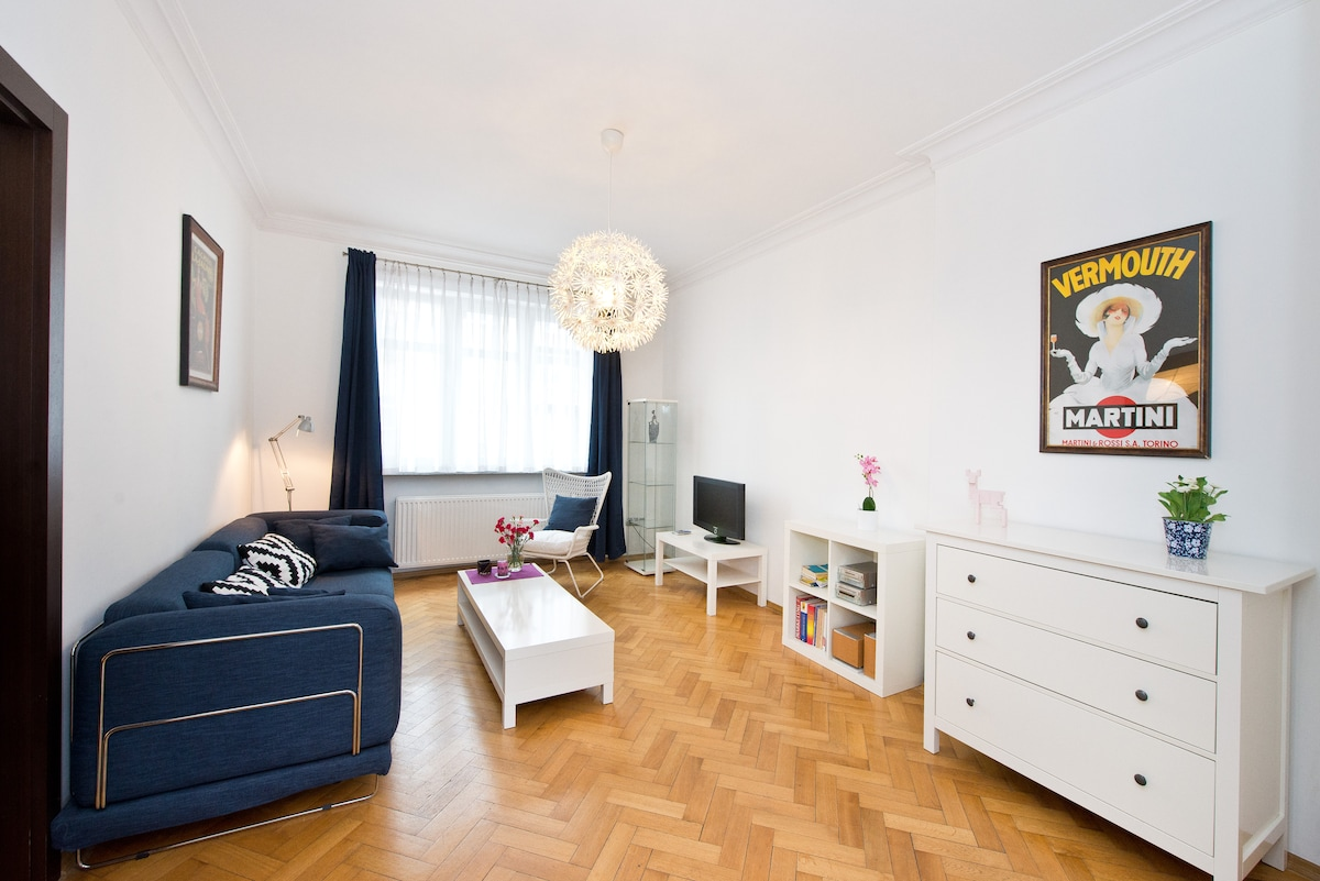Cosy Apt by the sea Gdynia center