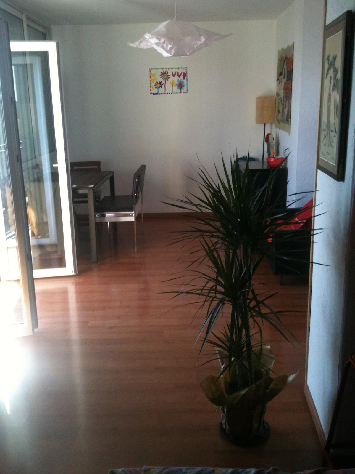 Appartement calme et ensoleillé