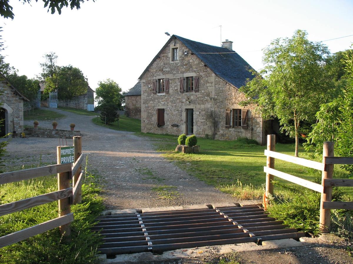 Gîte en plein coeur de l'Aveyron !