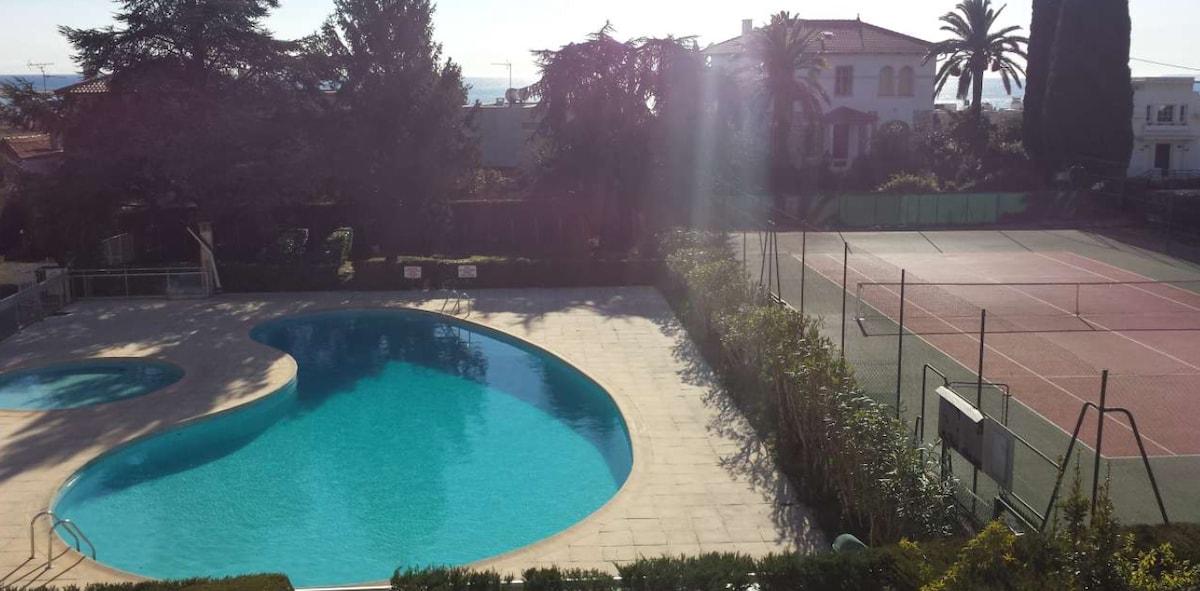 Nice 76sqm / swimming pool / tennis