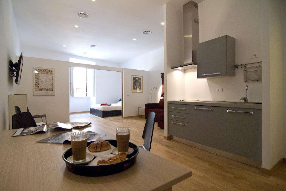 New Giuliano's apartment in Rome