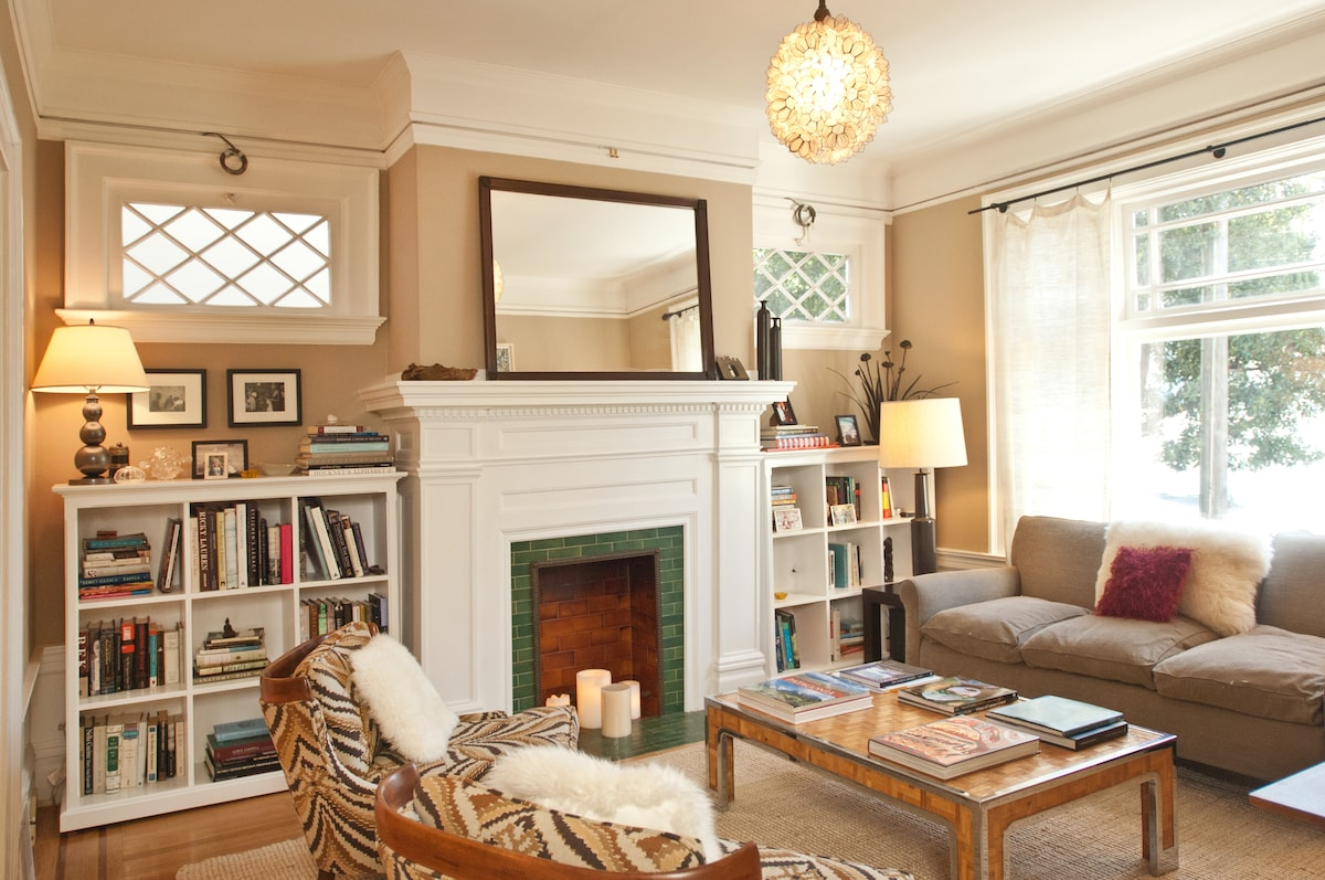 Large flat in Cole Valley (w/cat)