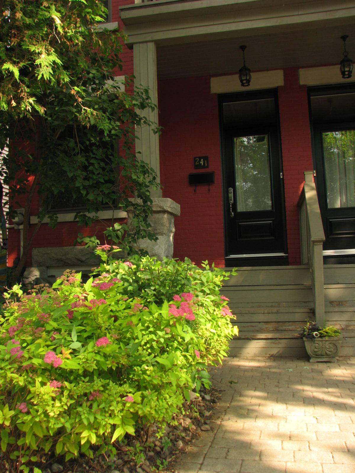 Lovely home in the heart of Ottawa