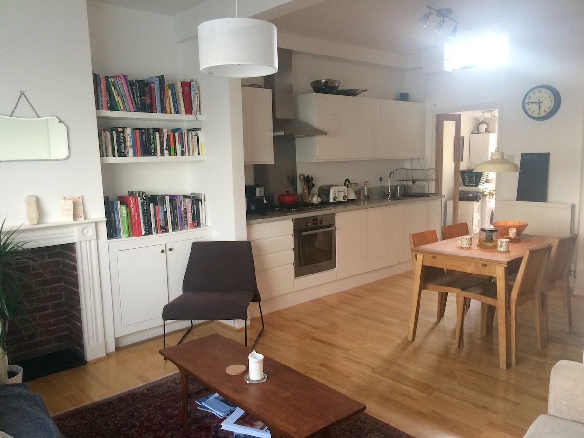 Spacious + Contemporary 1 Bed Flat