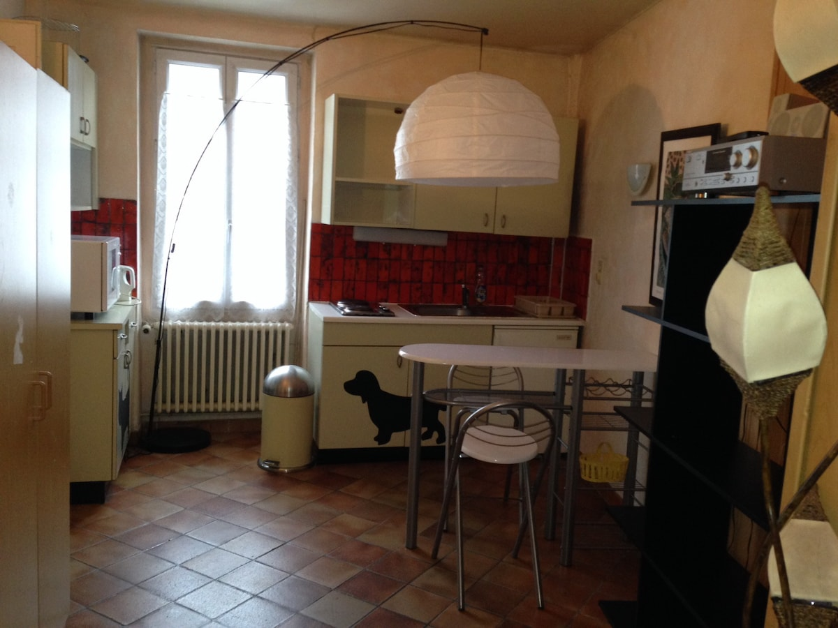 Studio for 2, close to St Gervais