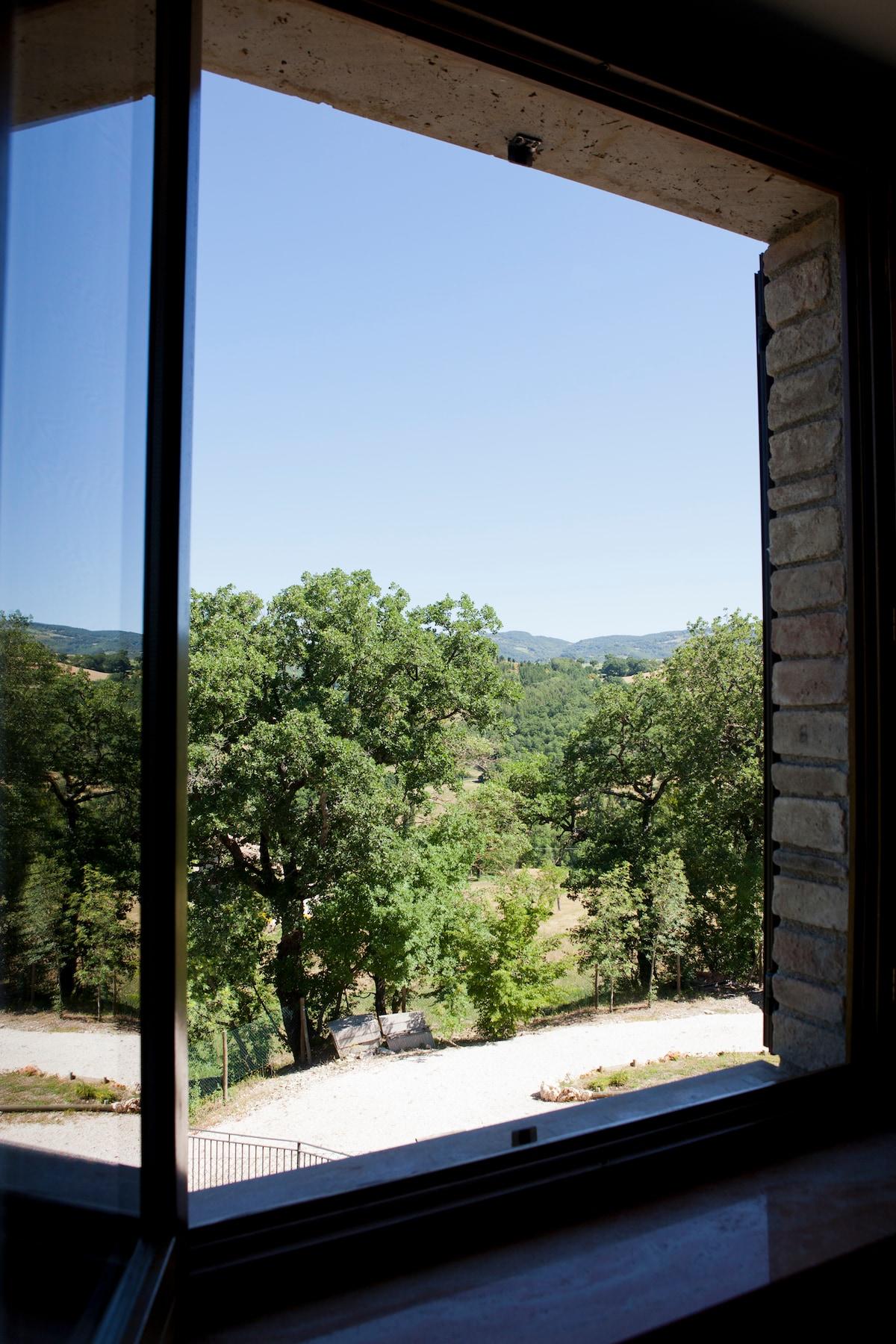 Panoramica dal interno del appartamento