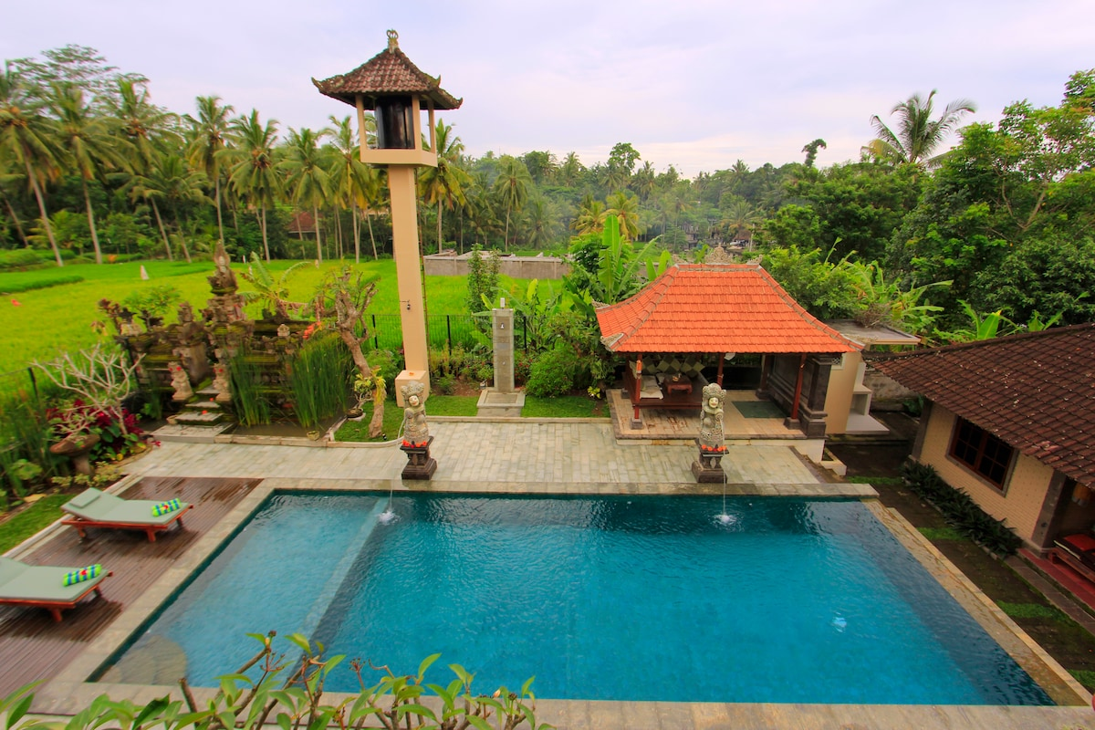 Ubud Bucu 1BR in a beautiful villa