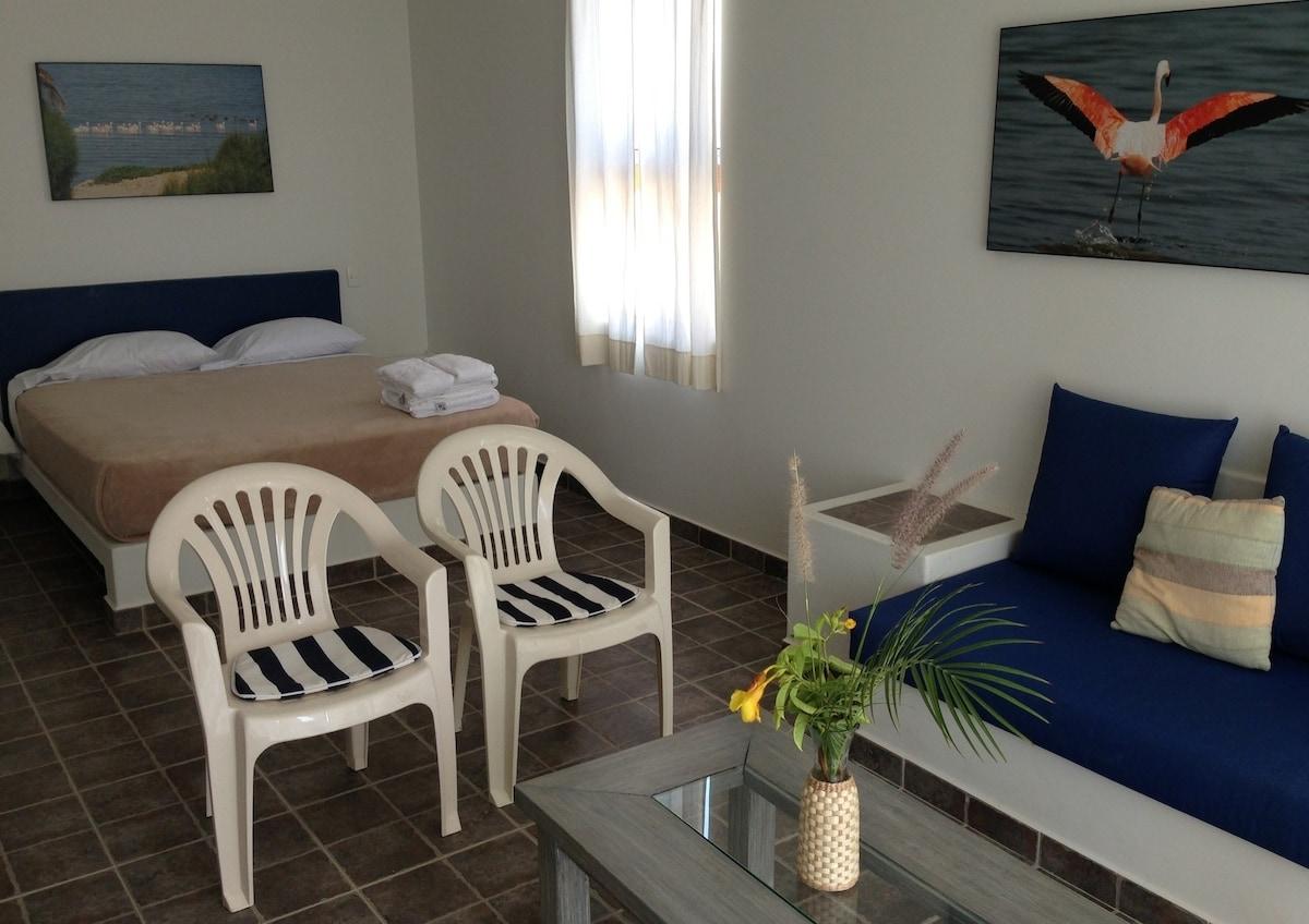 A beachsuite interior