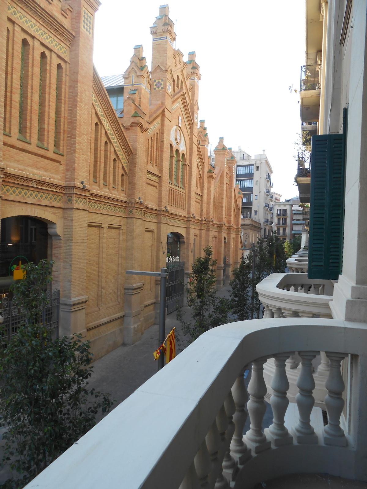 Luminoso apartamento en Barcelona