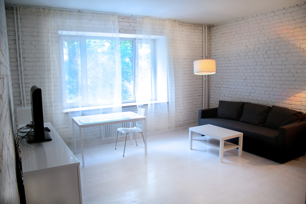 Modern apartment in the city centre