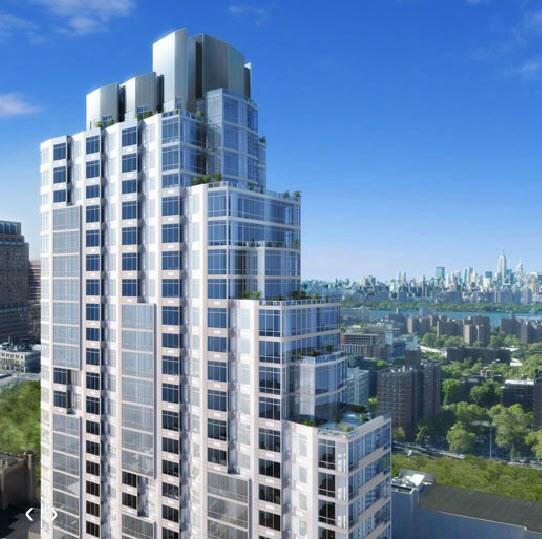 Modern luxury high-rise apartment