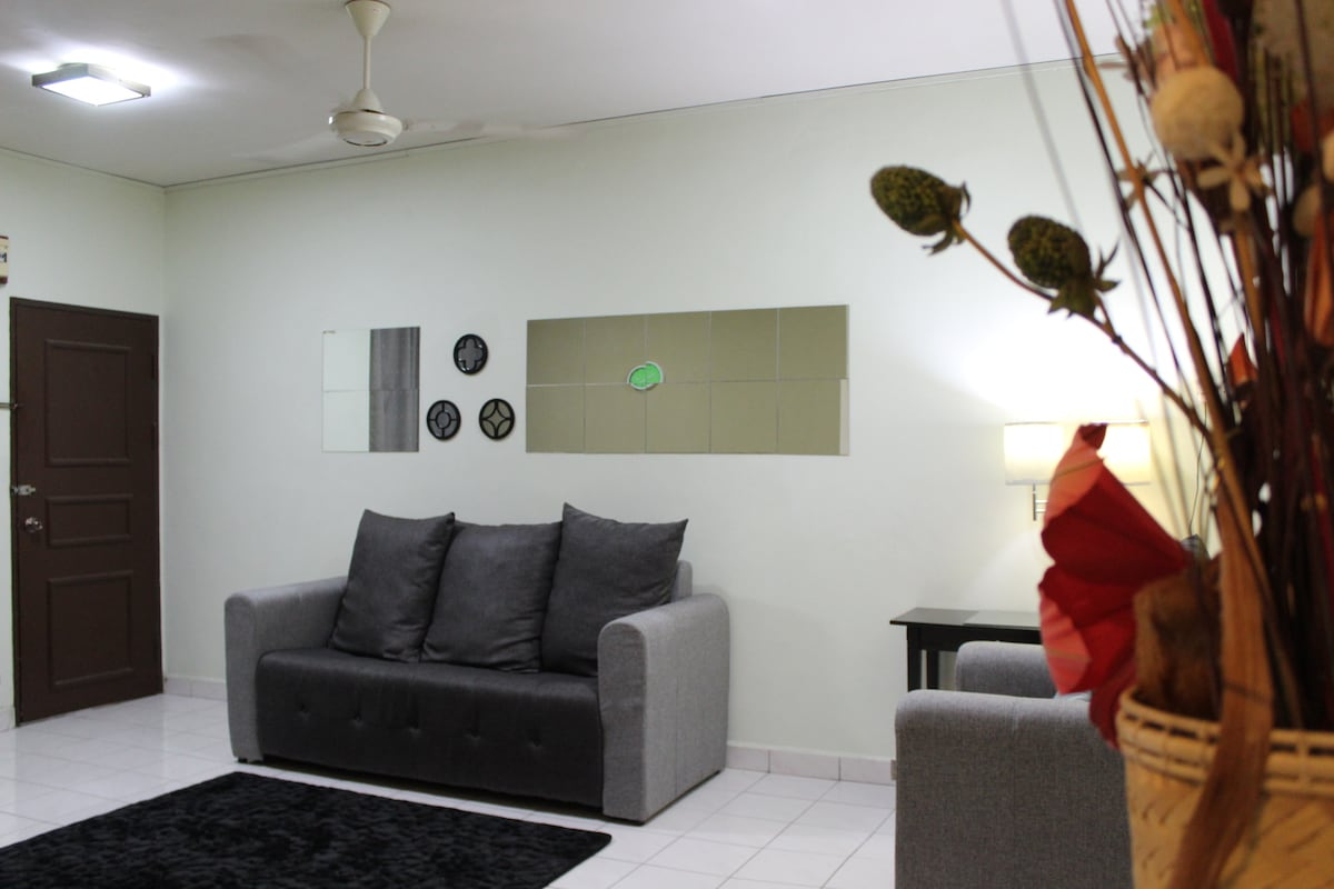 3BR Cosy Aptmt-FREE airport pickup!