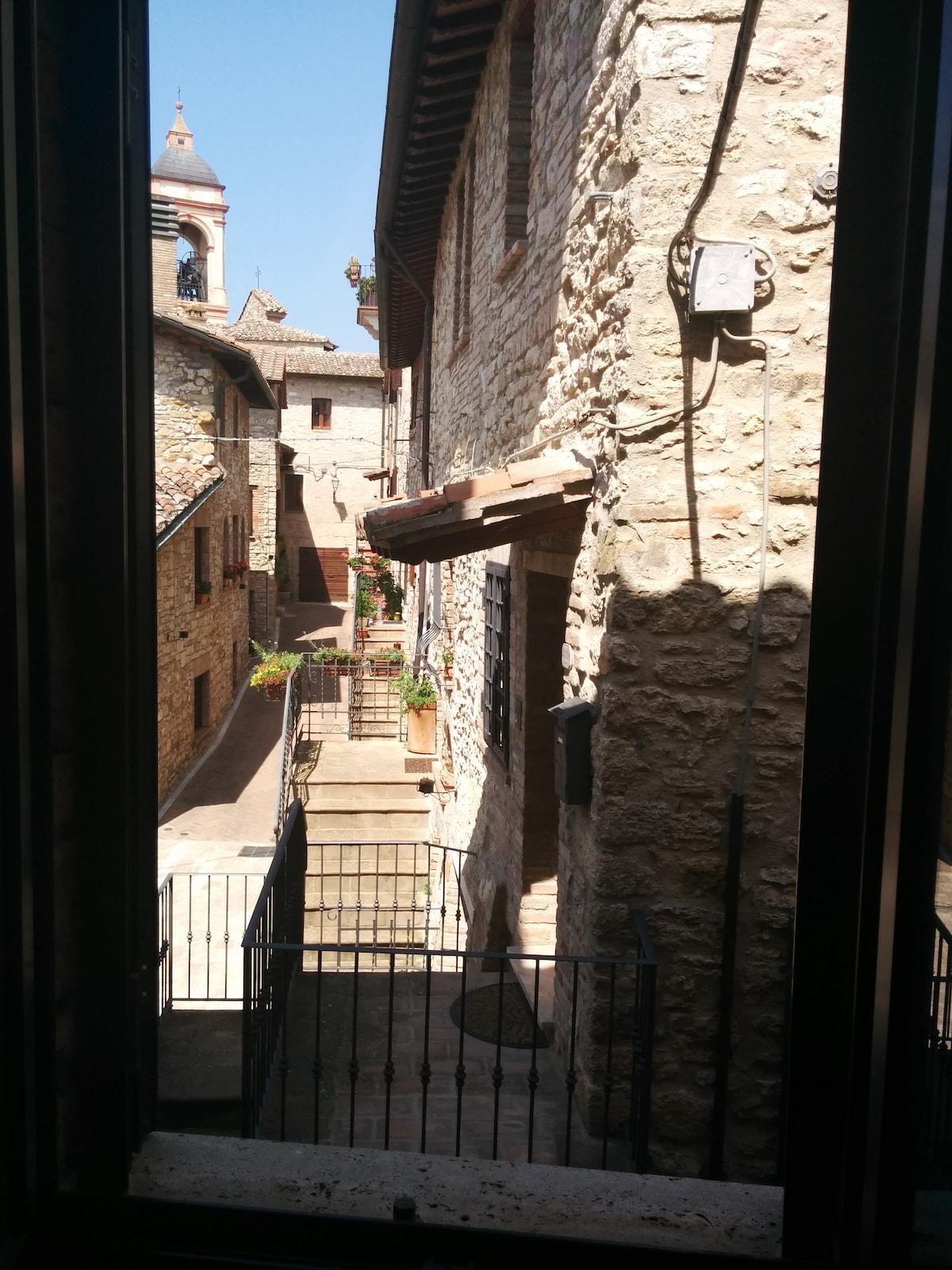 Monolocale in antico borgo umbro PG