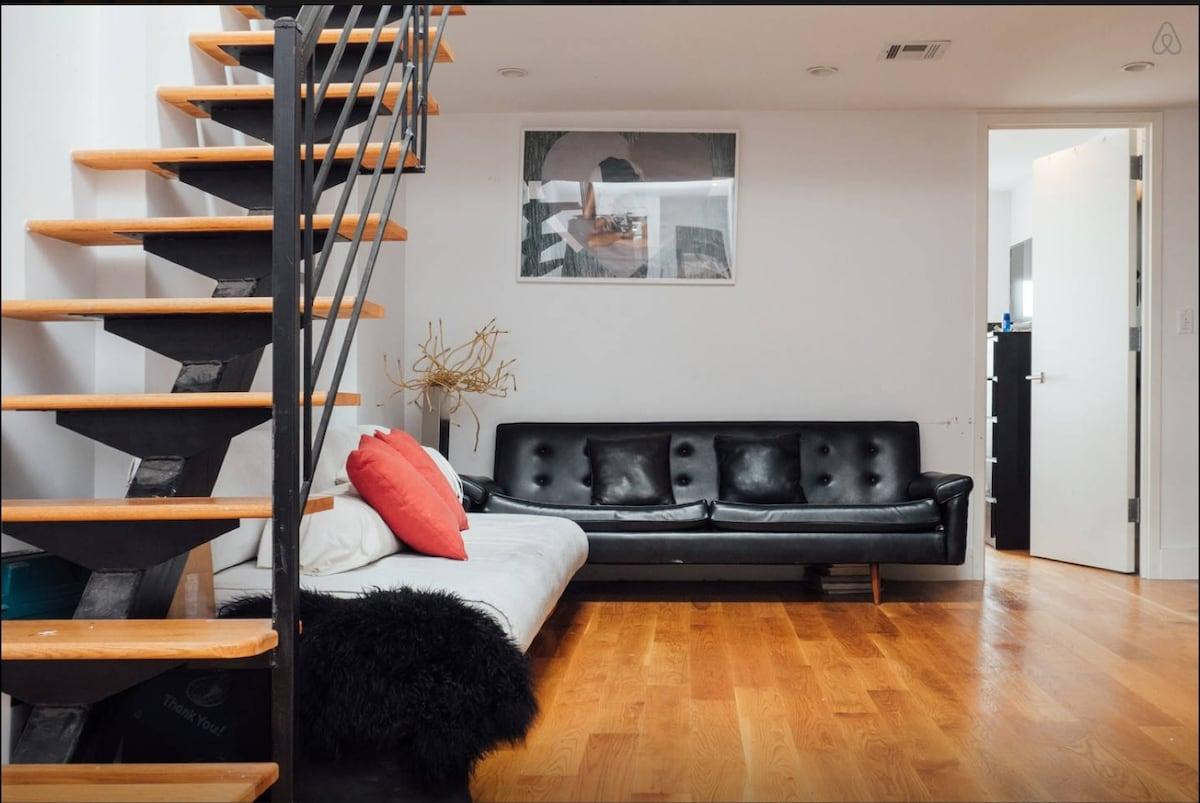 1 BD in Modern Bedstuy Duplex