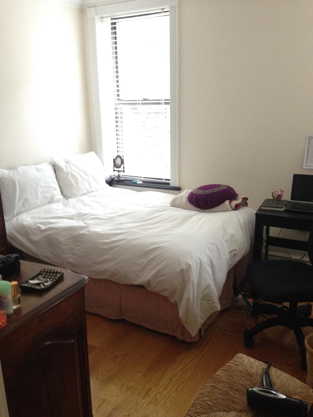 Cute bedroom in the East Village