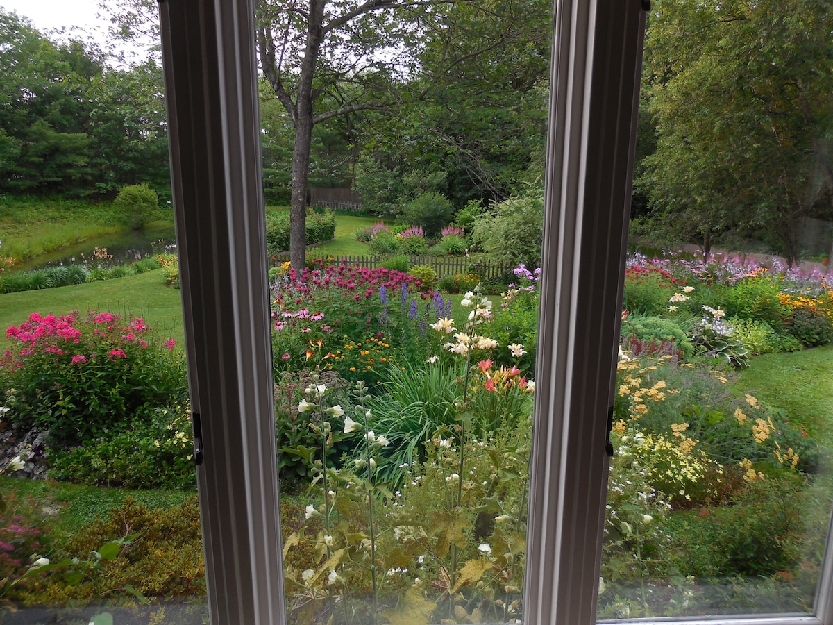 Your view out the living room window - July 2015