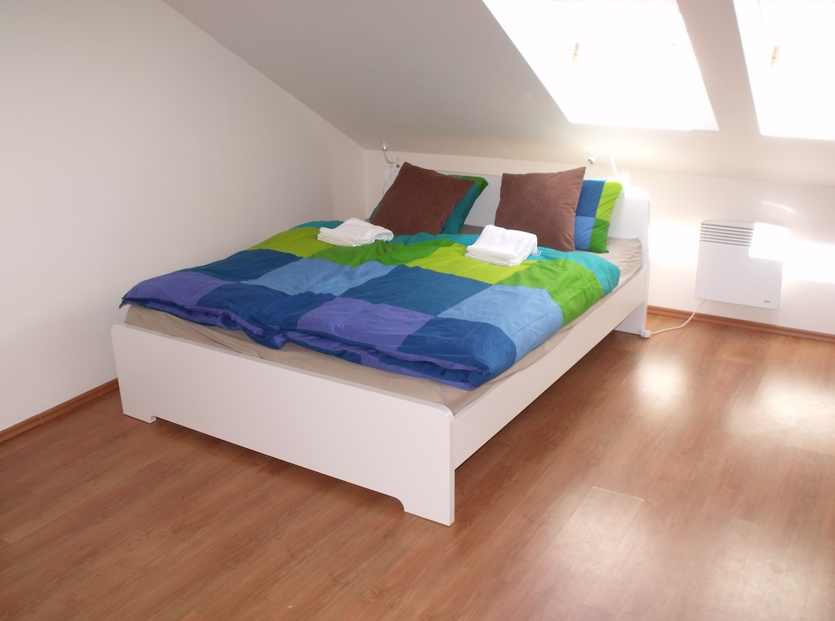 Newly furnished flat in city center