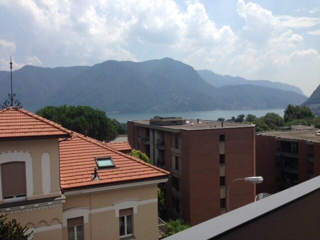 Massagno-Lugano See