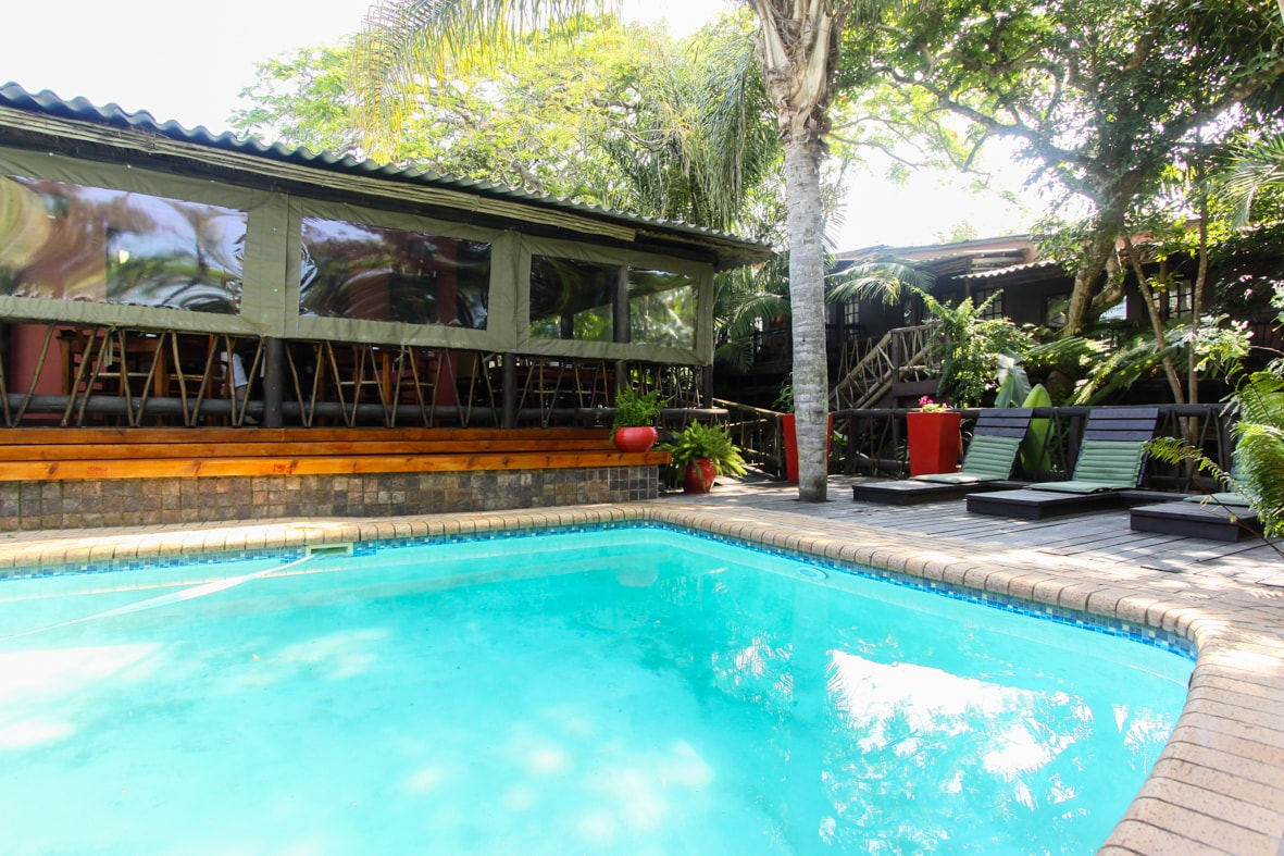 Umlilo Lodge is located in St Lucia