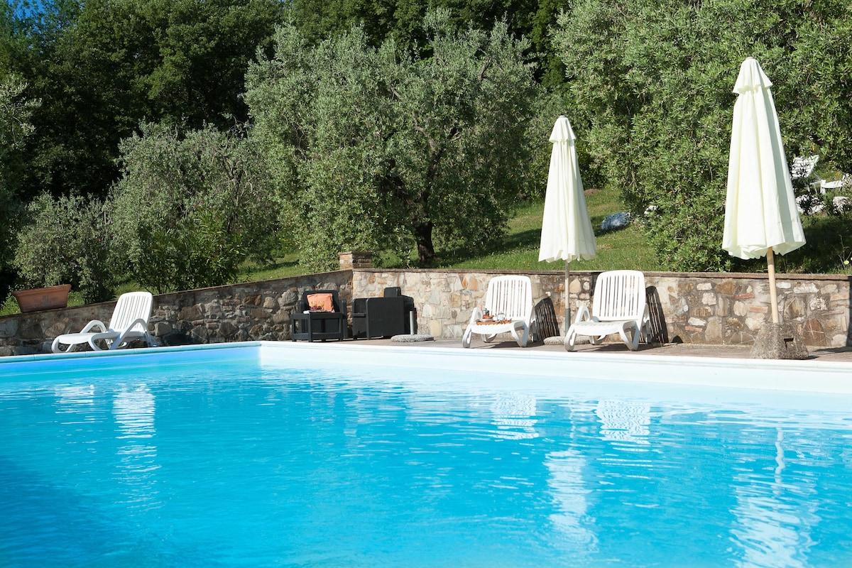 -20% Tuscany Apart pool 2/4p wifi