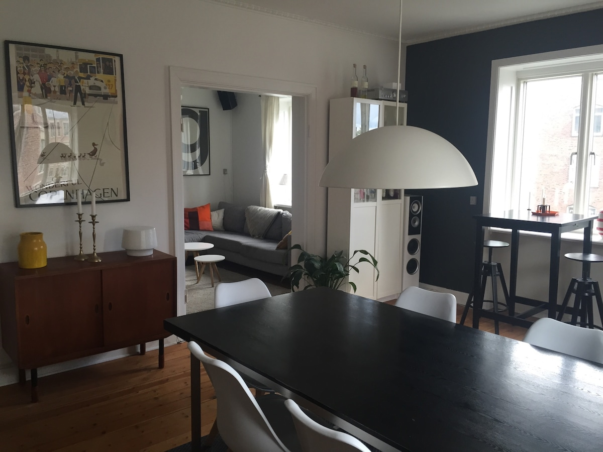 Spacies apartment in heart of Valby