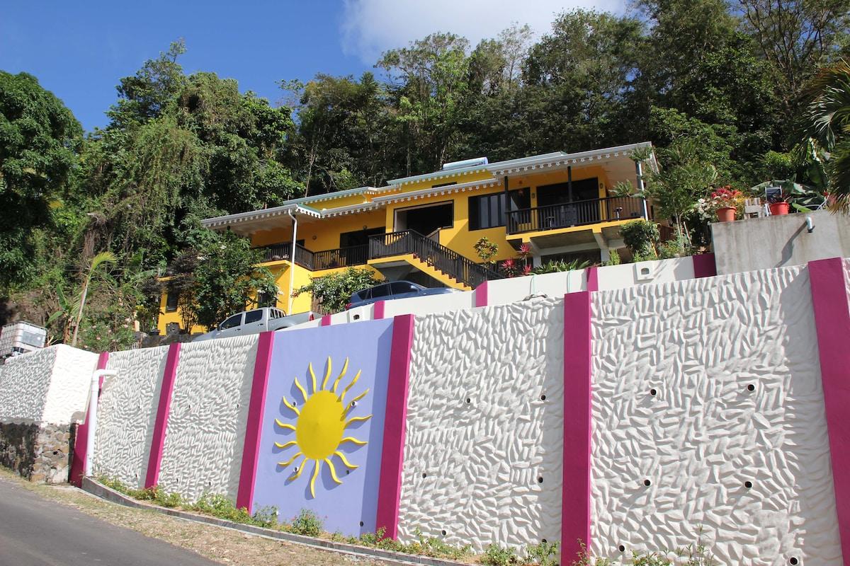 Roadside view of property