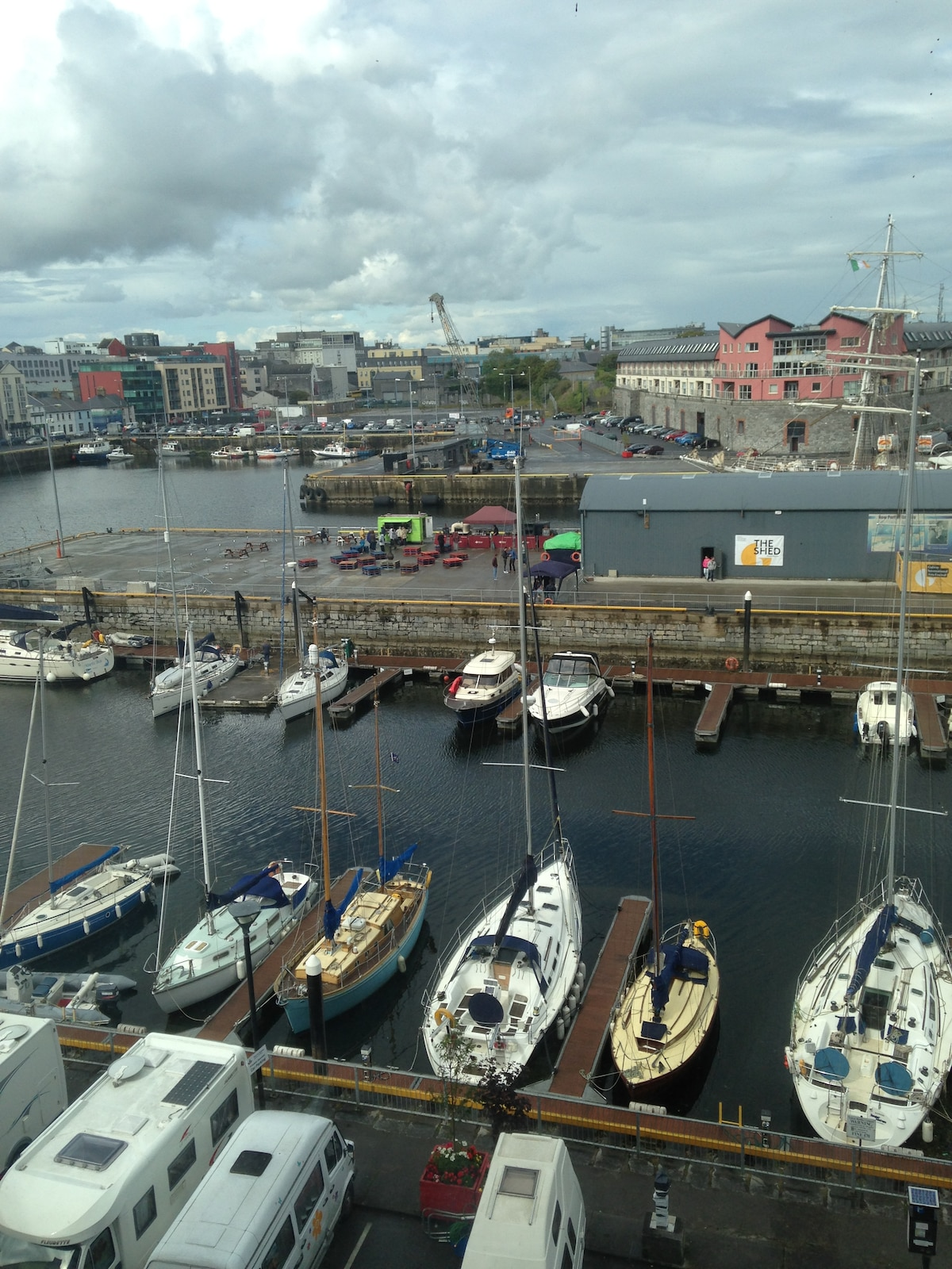 Galway City Center on The Docks