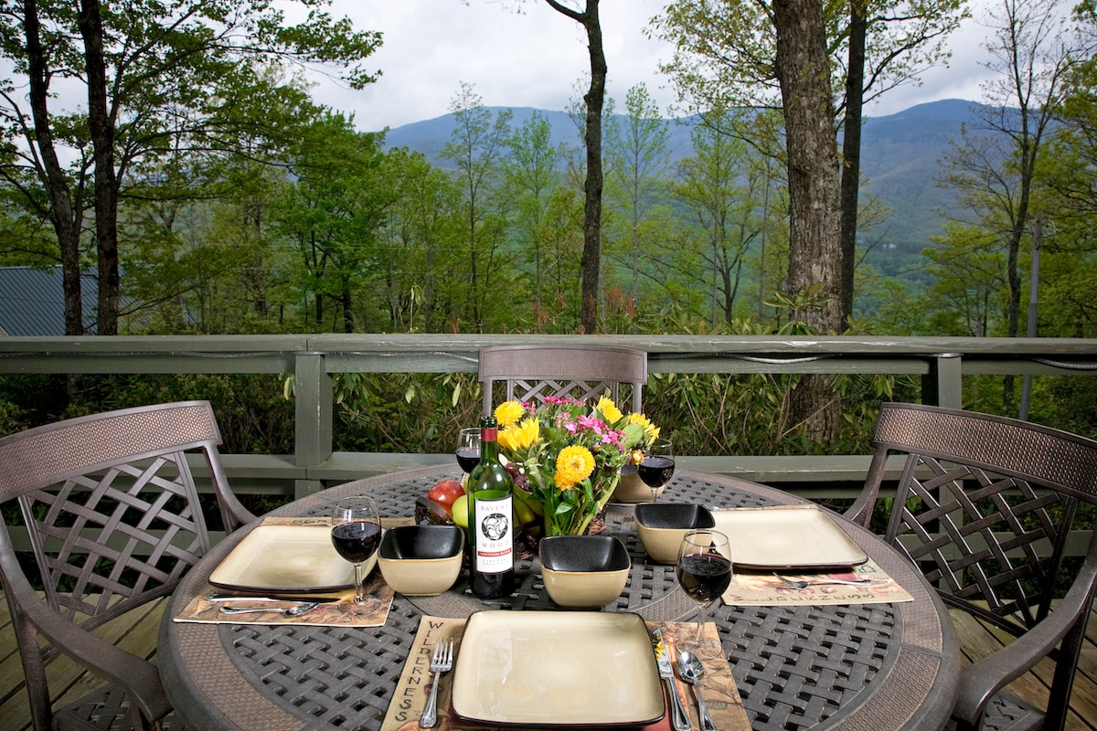 Roaring Fork Chalet at Mt Mitchell