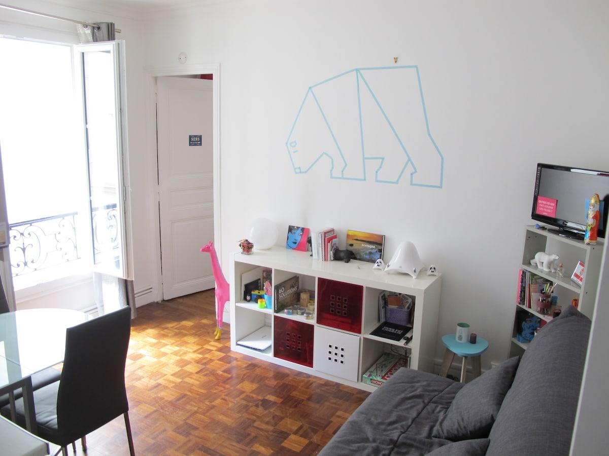 Beautifull flat in Paris- 11e!
