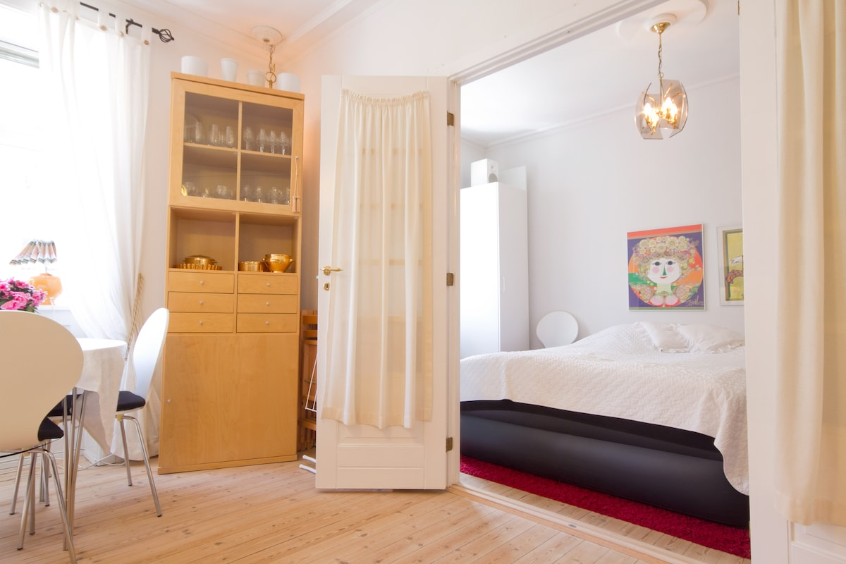 Cosy light room in Frederiksberg