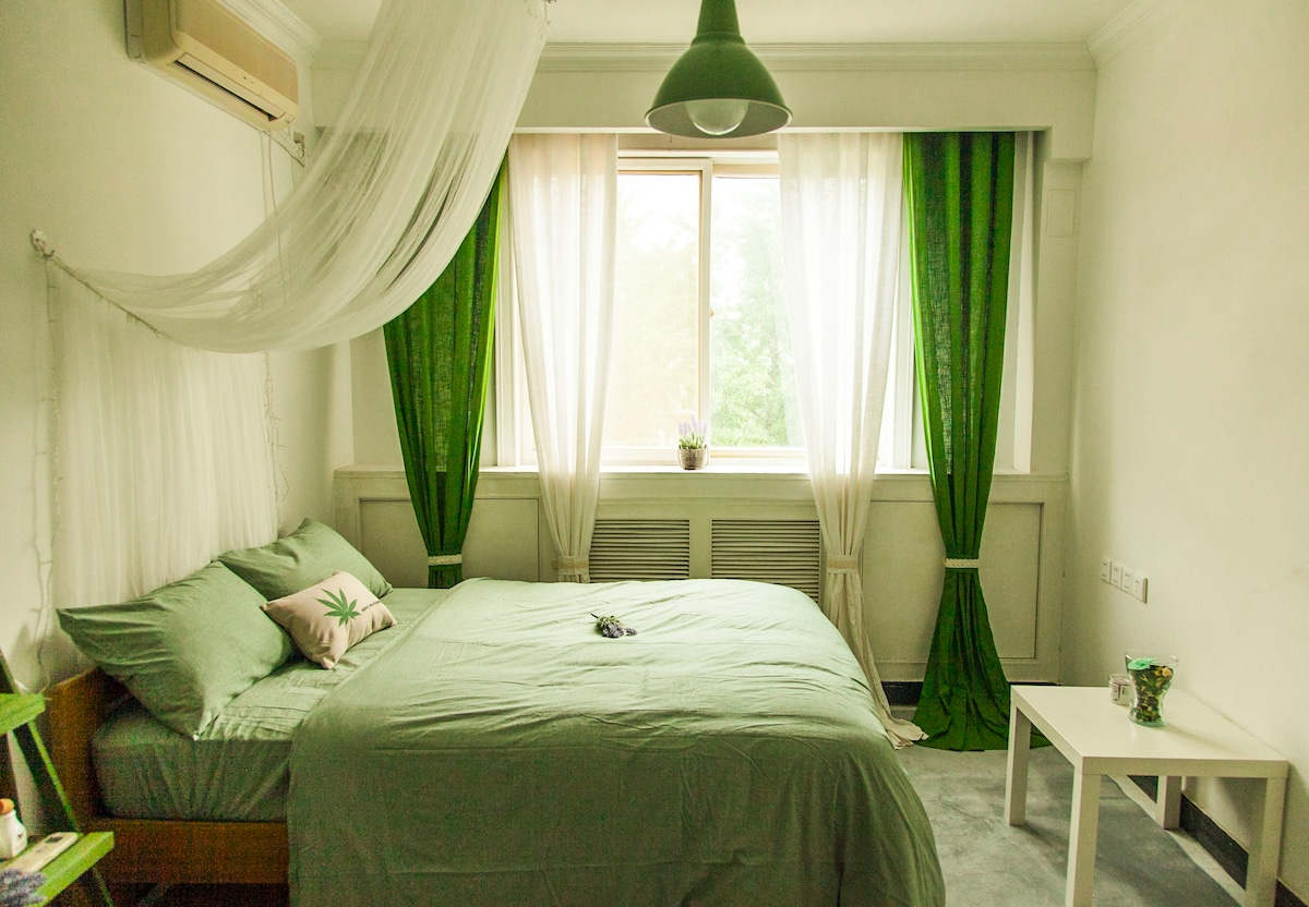 cozy natural style room in Sanlitun