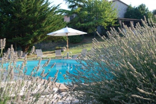 "Villa with pool ""Il Tamantino""."