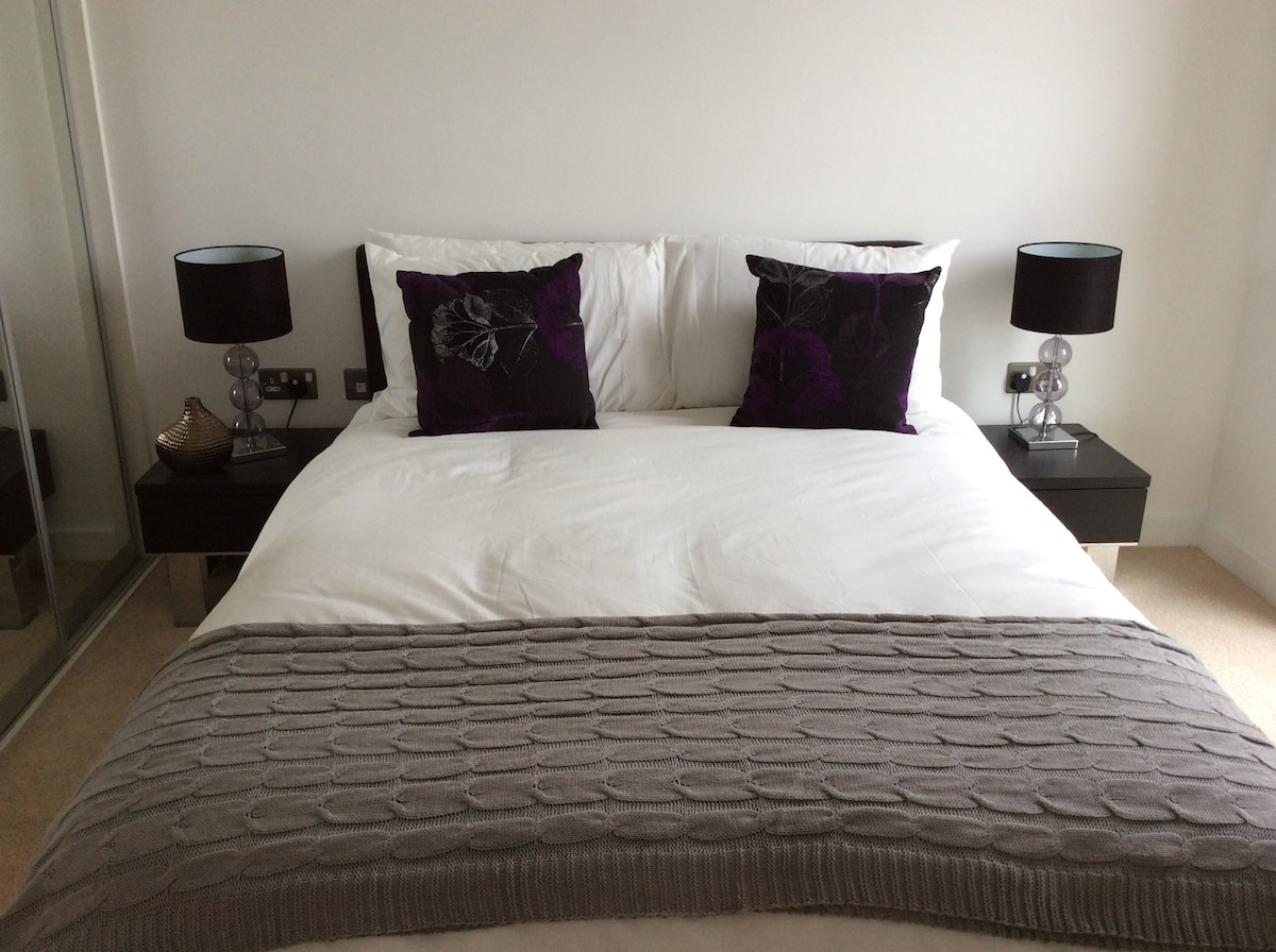 Two bed two bath apartment in e16