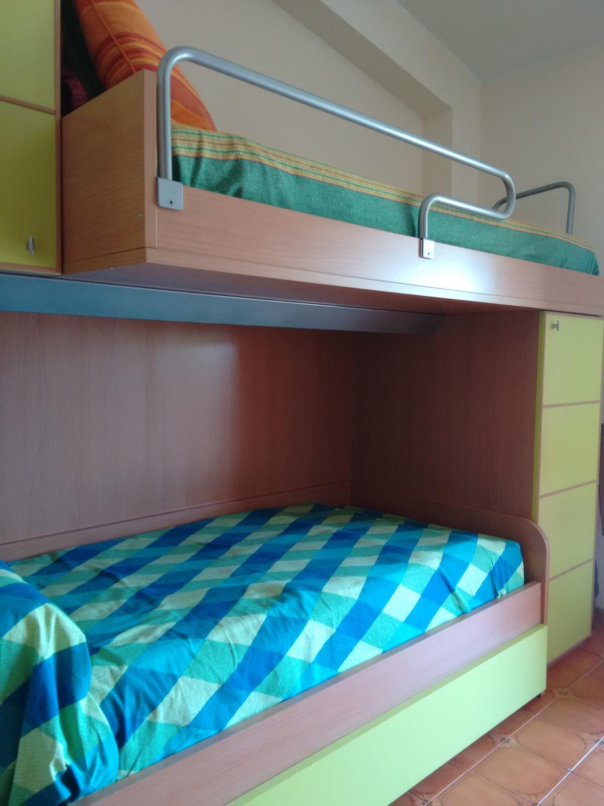 affitto stanza con due posti letto