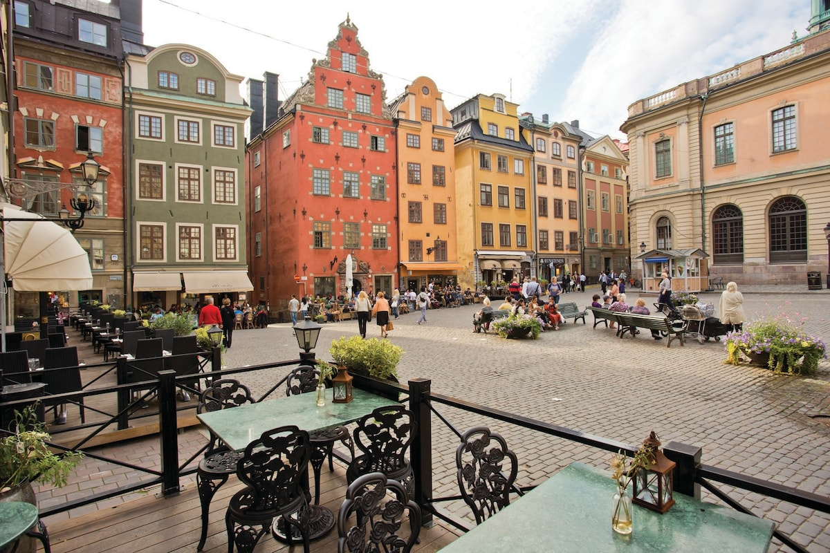 Cozy in Gamla stan (the old town)