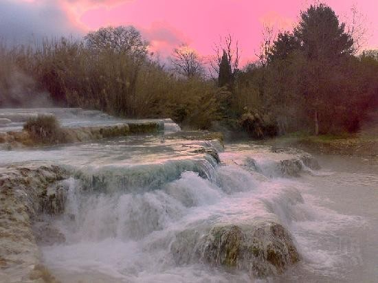Tuscany Saturnia's THERMAL BATHS!