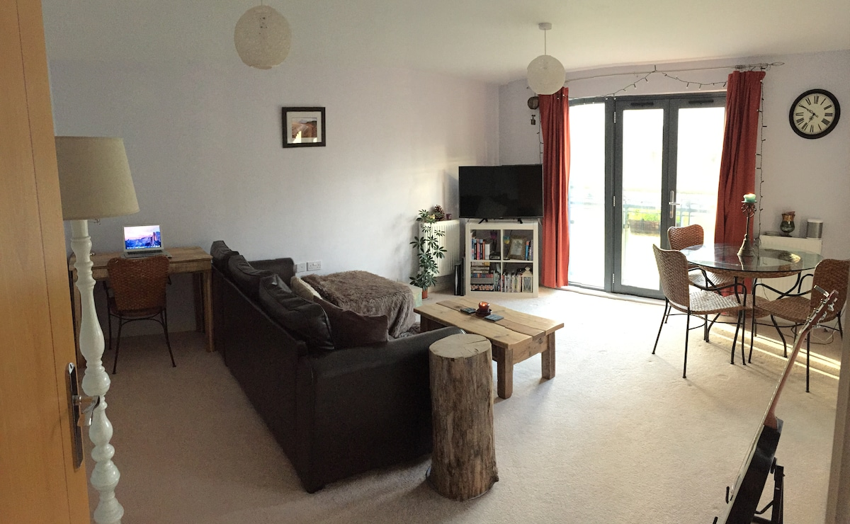 Spacious Swansea Marina Apartment