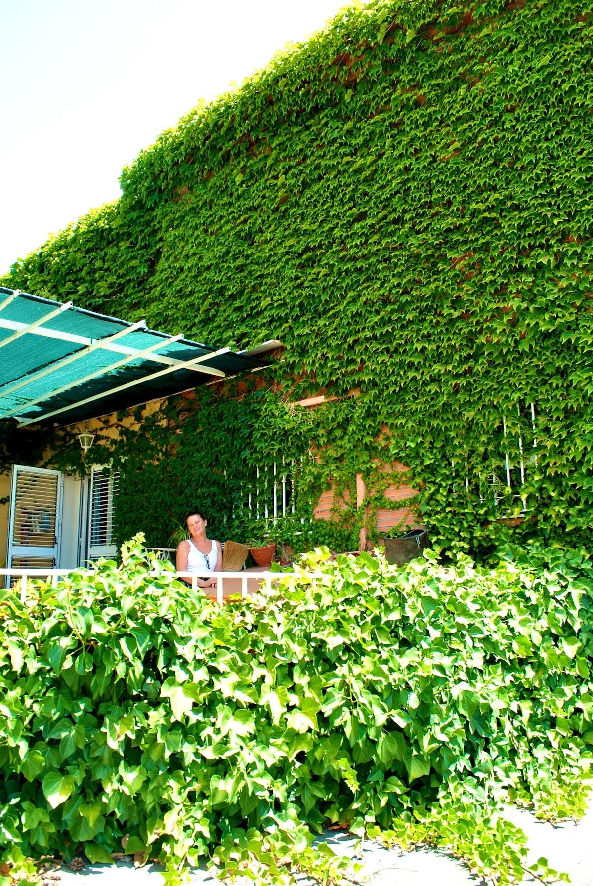 Double Private Sunny Terrace & Ski