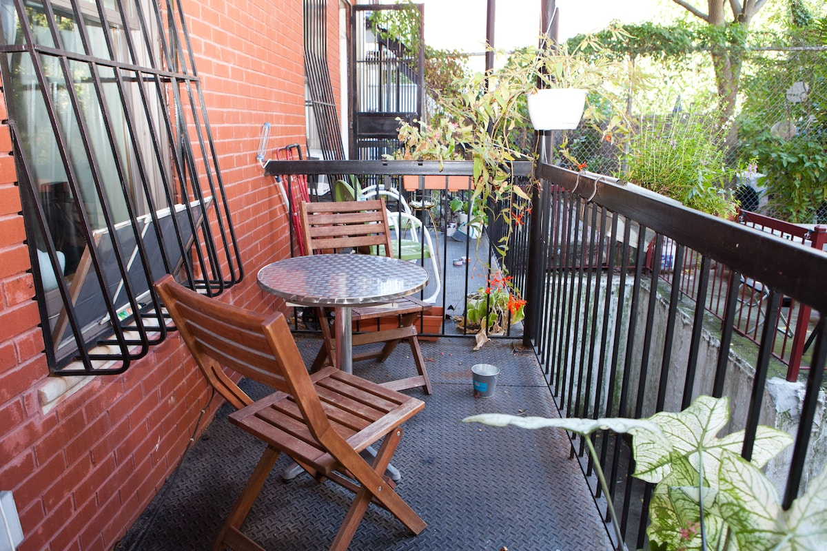 Relax in the City - Hip Rm +Balcony