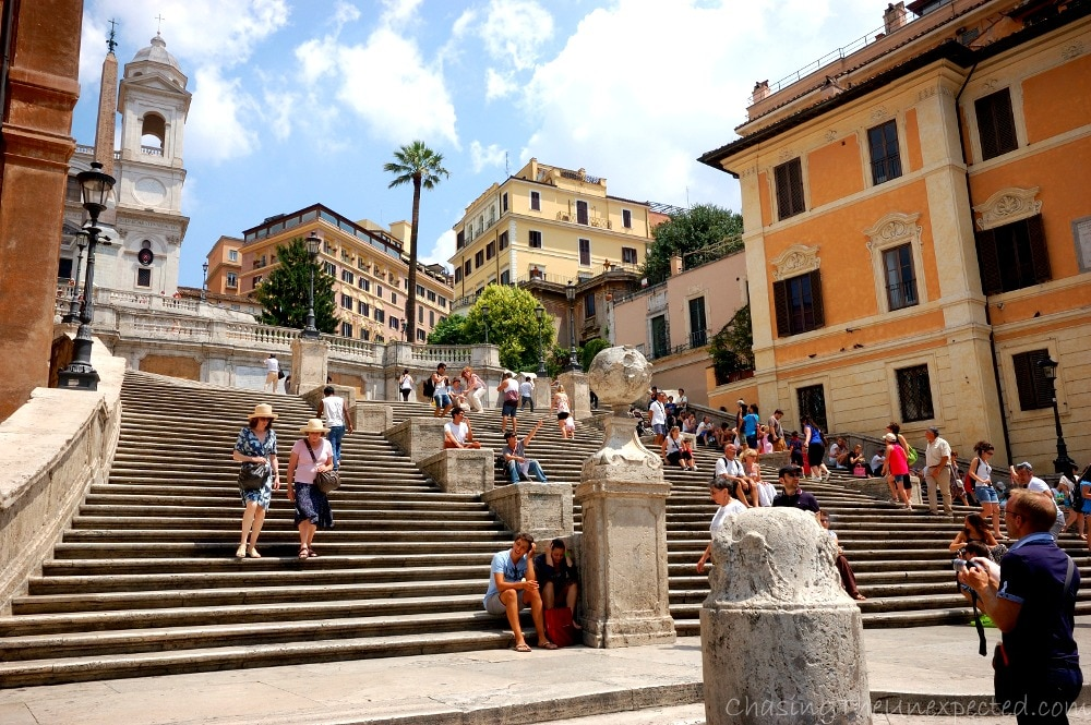 Home 100m from spanish steps