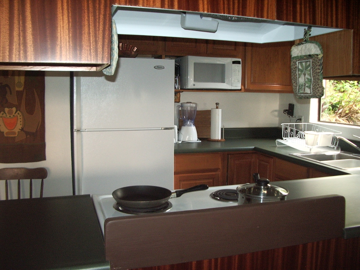 Full kitchen, fully equipped