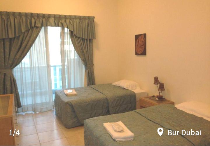 Fully Furnished Twin/Double Bedroom